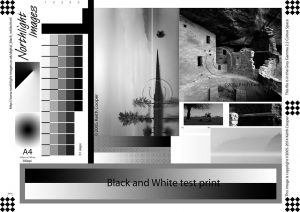 Northlighth-Images B/W Test image