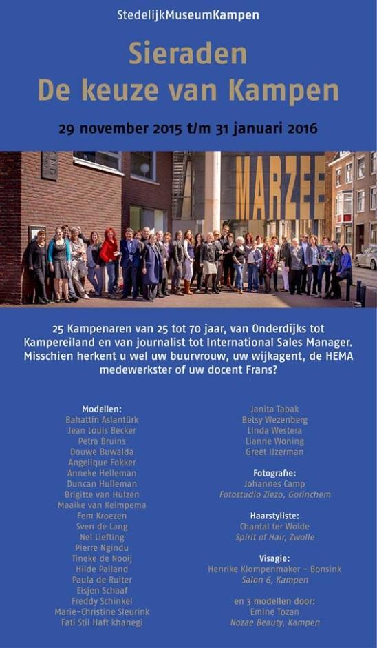 Fine Art Printing Specialist, Galerie Marzee, Stedelijk Museum Kampen, De keuze van Kampen