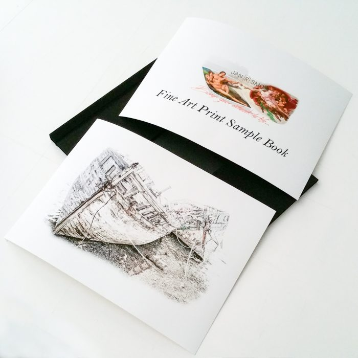 Fine Art Print Sample Book