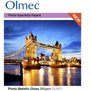 Jan R. Smit Fine Art Printing Specialist Olmec Photo Metallic Gloss 260gr/m2 OLM71