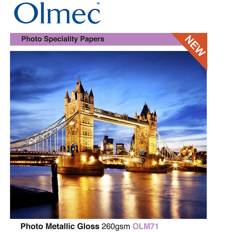 Jan R. Smit Fine Art Printing Specialist Olmec Photo Metallic Gloss 260gr/m2 OLM71