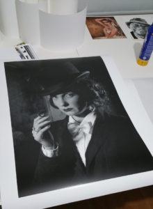Fine Art Zwart Wit Afdruk ; Marlene Dietrich Returns in Black and White ; Fine Art Printing Specialist ; Fine Art Zwart-Wit afdruk