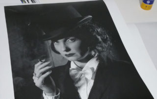 Marlene Dietrich Returns in Blakc and White ; Fine Art Printing Specialist