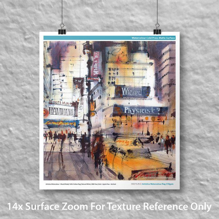 Innova IFA108 Fabriano Artistico Watercolour Rag 310gsm