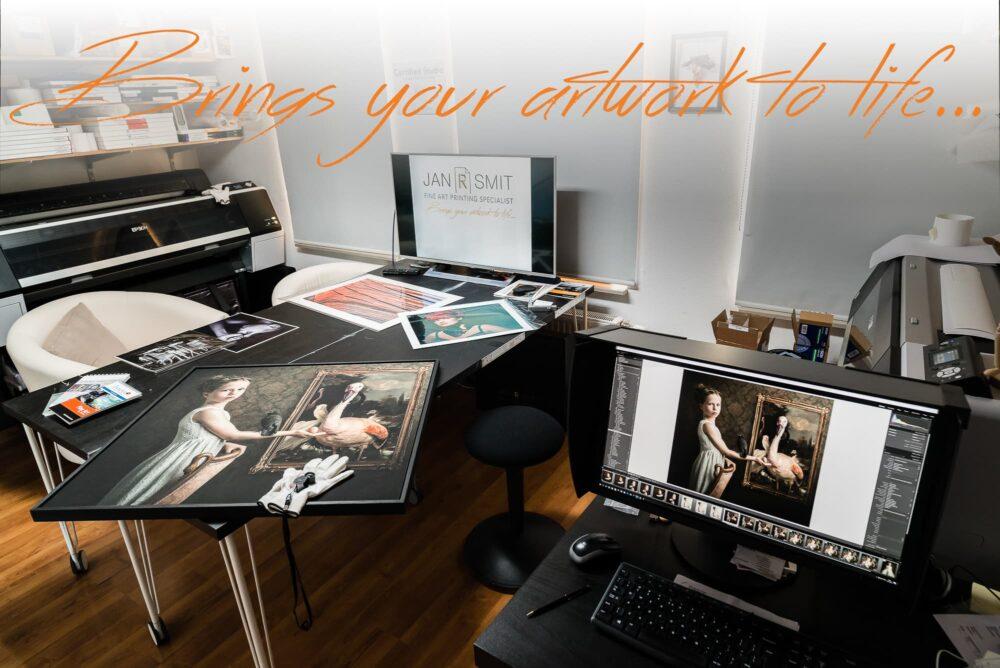 Jan R Smit Fine Art Printing Specialist, Brengt uw kunst tot leven!